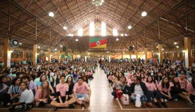 Encontro de Jovens Maristas reúne mais de mil estudantes em Erechim (RS)
