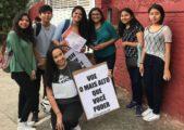 ENEM: Jovens levam palavras de motivação para estudantes
