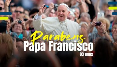 Feliz aniversário Santo Padre!