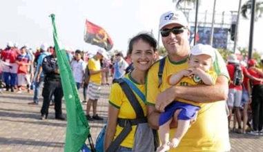 JMJ Panamá: o SIM de uma família
