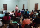 Dom Antônio Assis assessora II Encontro de Formação para Acompanhantes de jovens em Itaituba-Pa