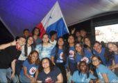 Jovens panamenhos celebram o primeiro aniversário da JMJ