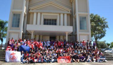 """Juventude da Diocese de Caçador realizou Missão Jovem com o tema """"Um novo ardor missionário"""""""