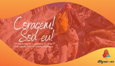 """Lema """"Coragem! Sou eu!"""" irá nortear ações online pelo Dia Mundial de Oração pelas Vocações"""