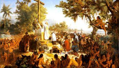 A primeira Missa no Brasil e as nossas Missas!