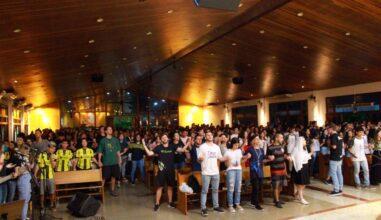 Terço Jovem no Paraná reúne expressões juvenis na devoção a Nossa Senhora