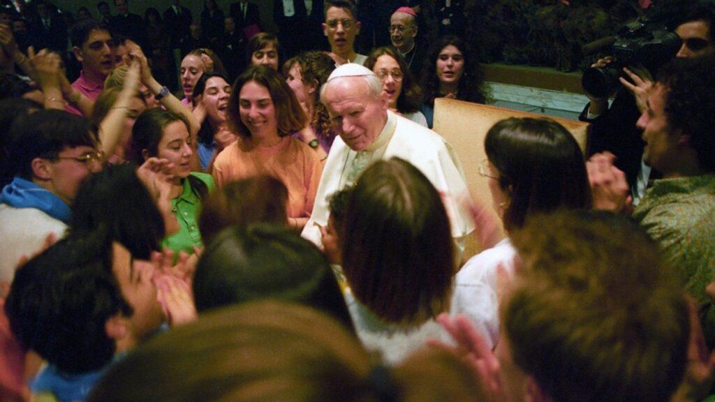 Papa Joao Paulo II e os jovens