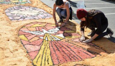 """Corpus Christi: Preparando o """"tapete"""" do nosso coração"""