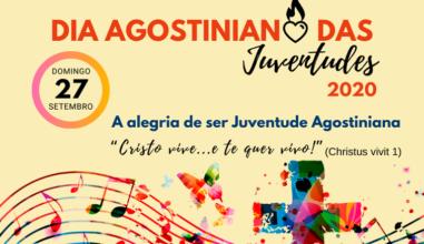 Dia Agostiniano das Juventudes 2020 será realizado no próximo dia 27 de setembro