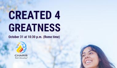 Created 4 Greatness: Papa Francisco on-line com os Jovens da Renovação Carismática do Mundo