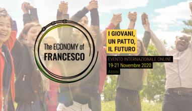 """""""Economia de Francisco"""" será on-line, de 19 a 21 de novembro e os jovens são os protagonistas"""